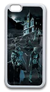 Zombie Ghosts Glow in Dark Custom For HTC One M9 Case Cover Hard shell White