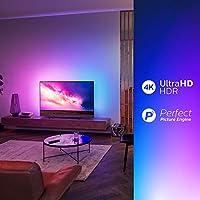 Philips - TV Led 127 Cm (50)  Philips 50Pus8804/12 4K HDR Smart TV, Ambilight Y Android TV con Inteligencia Artificial (IA): Amazon.es: Electrónica