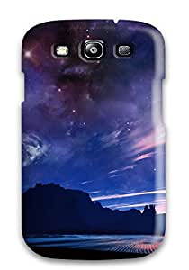ZippyDoritEduard Scratch-free Phone Case For Galaxy S3- Retail Packaging - Fantastic Night Sky
