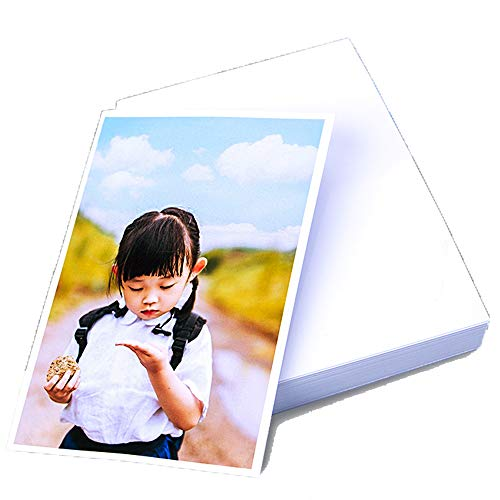 LIWUTE Professional Color Laser Printing Paper, Double Sided Glossy Photo Paper, Dries Immediately, Double-Sided Printfor, for Laser Printers, 6