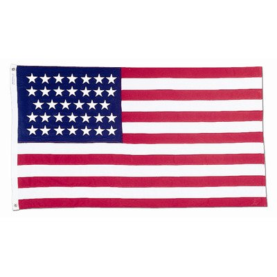 3x5' 34 Star US Historical Flag Made by Annin