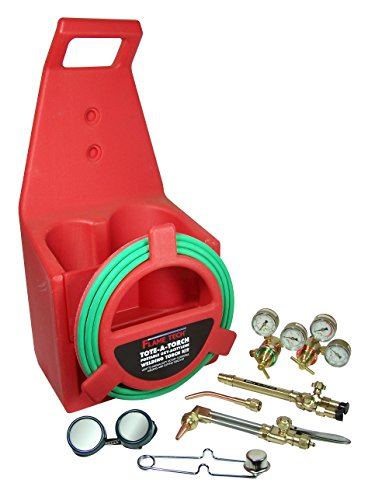 Flame Technologies FTPTK-18 Portable Torch Kit, Cylinders...