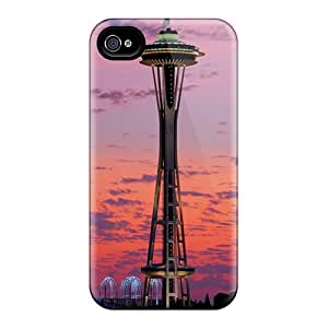 New Fashion Premium Cases Covers For Iphone 4/4s - Space Needle