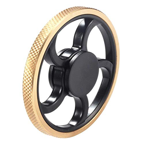 Xosoy Fidget Spinner New Stainless Steel Bearing 3-5 Mins