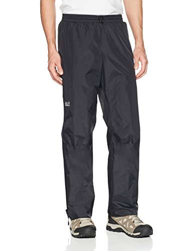 Jack Wolfskin Men's Cloudburst Pants, Large, Black