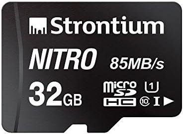 estroncio Nitro 32 GB MicroSD SDHC UHS-1 Class 10 tarjeta ...