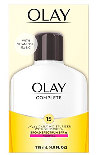 Olay Complete All Day Moisturizer with Broad Spectrum SPF 15 Normal, 4.0 fl - 15 Spf Lasting Moisturizer