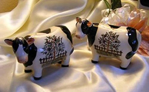 Country Cow Salt Pepper Set ()