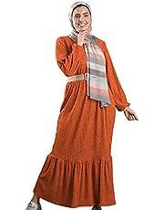 فستان كاجوال من بينكي فستان طبقات للنساء