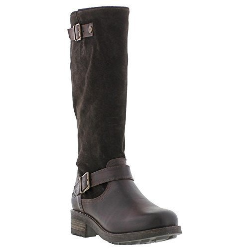 Oak & Hyde Womens Soft Leather Zip Up Slouch High Western Boots Pnn3P