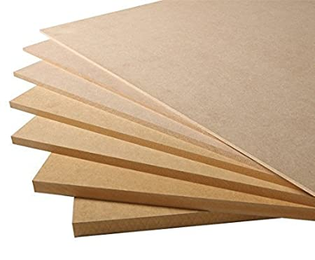 MDF 18mm - Medium Density Fibreboard 8ft x 4ft (2440mm x 1220mm) www.buildermerchant.com