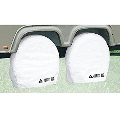 Leader Accessories 4pcs RV Tire/ Wheel Covers Camper Car Trailer Truck