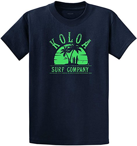 ms at Sunset Heavyweight Tee-M-Navy/Green ()