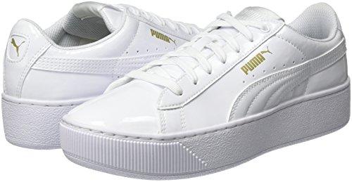 Adulto Unisex Puma Deporte white Zapatillas Ribbon Blanco Vikky q1nO6ZwxA