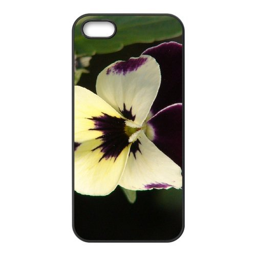 SYYCH Phone case Of Butterfly Flowers 1 Cover Case For iPhone 5,5S