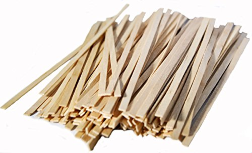 0-2000ct Wooden Coffee Stirrer with Square Ends, 5.5