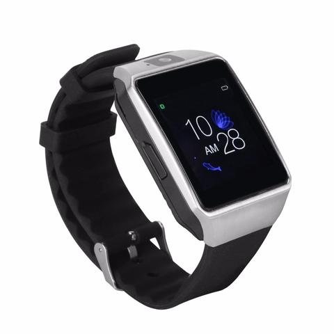 Bluetooth Smart Watch Touchscreen with Camera, TechFaith G12 Unlocked Watch Cell Phone with Sim Card