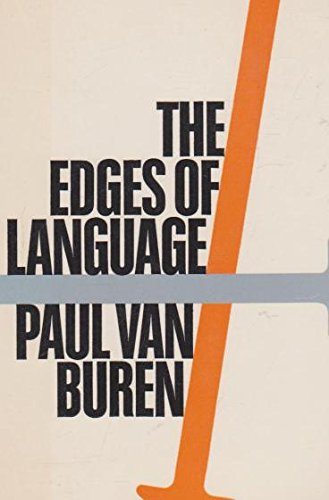The edge of language: An essay in the logic of religion