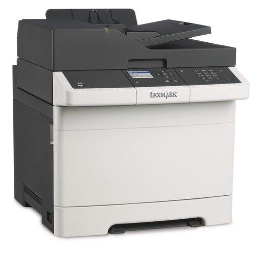 Lexmark CX310dn multifunction colour laser printer A4, 3-in-1, Printer, copier, Scanner, Duplex, network, USB