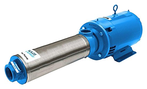 5 hp 5 Stages 1 Phase 69 GPM 208-230V Open Drip Proof Motor Motor Frame 184 W.E.L GOULDS WATER TECHNOLOGY 45HB15013 High Pressure Centrifugal Booster Pump 13-7//8 13-7//8 W.E.L
