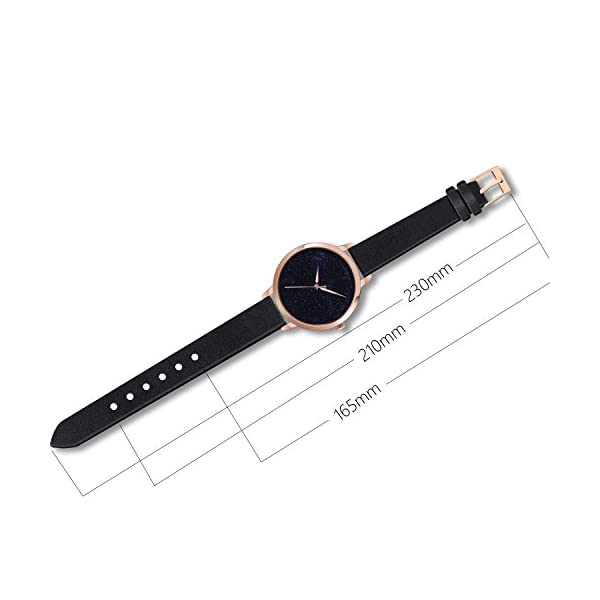 Starlight Dial Waterproof Wrist Watch