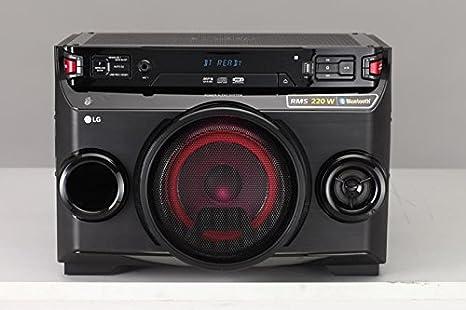 LG OM4560 - Microcadena (220 W, Bluetooth, LED), Color Negro ...