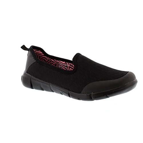 Heavenly Feet Isabella - Black (Textile) Womens Shoes jNFAobj