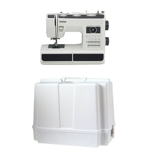 Brother Strong and Tough Sewing Machine with 37 Stitches (ST371HD) with Universal Sewing Machine Carrying Case (Best Mechanical Sewing Machines 2019)