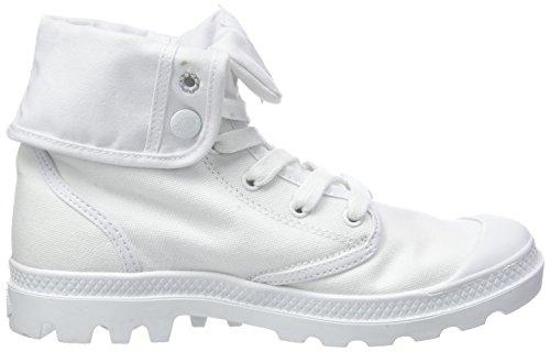 Palladium Baggy White 420 Blanc Chaussures Montantes Femmes F Us 66qanAB