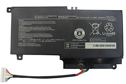 LNOCCIY 14.4V 2838mAh Laptop Battery for Toshiba Satellite P55-a5312 P55-a5200 P55t-a5202 P55t-a5116 L55-a5226 S55-a5236 S55-a5275 S55-a5294 S55-a5295 PA5107U-1BRS P000573230-18 Months Warranty (Toshiba Satellite P55t)
