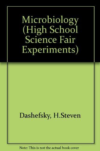 Microbiology: High-School Science Fair Experiments
