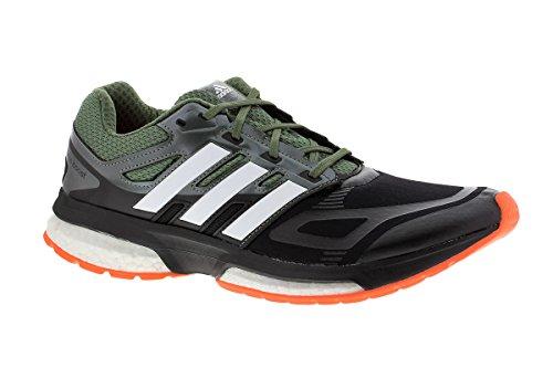 Adidas Response Boost Techfit Running Shoes - SS15 - 10 - Black