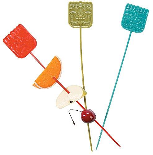 Fun Express Tiki Fruit Kabob Sticks Party Favors - 25 Pieces
