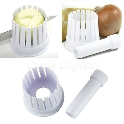 Kitchen Onion Flowering Blossom Maker Slicing Guide Core Remover Cutter Chopper Easy Flowering Onion Cutter