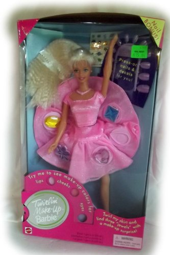 Barbie Twirlin' Make-Up with Nail Bonus by Mattel