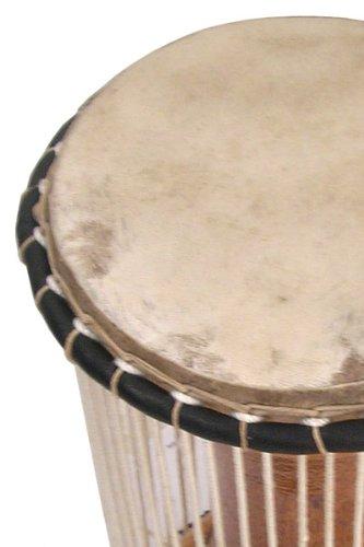African Mali Tama Talking Drum 6 X 12 + Beater Djembe - New!