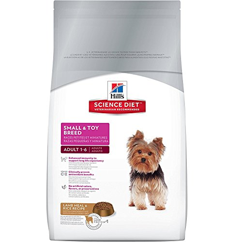 Hill'S Science Diet Adult Dog Food, Small & Toy Breed Lamb Meal & Rice Recipe Dry Dog Food, 4.5 Lb Bag
