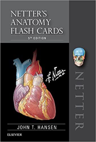 Amazon Netters Anatomy Flash Cards E Book Netter Basic Science EBook John T Hansen Kindle Store