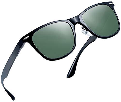 (Joopin Unisex Polarized Sunglasses Classic Men Retro UV400 Brand Designer Sun glasses (Al Mg Alloy)