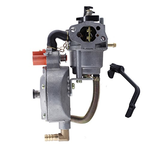 HIPA Generator Dual Fuel Carburetor LPG NG Conversion kit 2.8KW GX200 170F Manual Choke (Tri Fuel Propane Natural Gas Generator Conversion Kit)