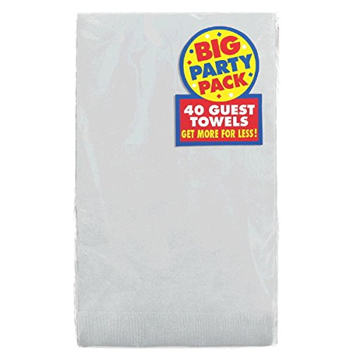 Amscan Big Party Pack Durable 2 Ply Guest Towel Tableware