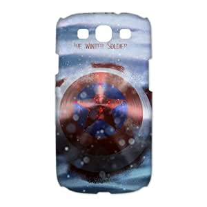 Captain America Design Hard Case High-quality Case for Samsung Galaxy S3 (Laser Technology)