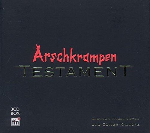 Dietmar Wischmeyer: Arschkrampen-Testament (Audio CD)