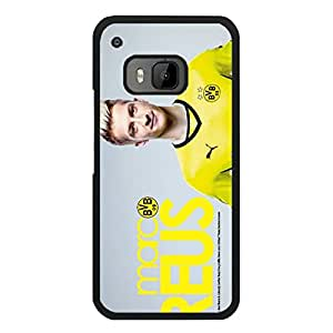 Official BVB09 Borussia Dortmund Cell Phone Case Snap On Htc One M9 Bundesliga Football Team Player Marco Reus Cute Customised Borussia Dortmund Custom Phone Case