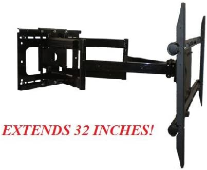 Full Motion Articulating Wall Mount Bracket for Samsung LN55C650 HDTVFITS ALL SAMSUNG 55 INCH EXTENDS 32 INCHES