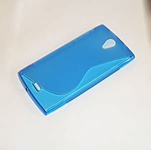 Funda de Gel Tpu S-Line Orange Nura Color Azul