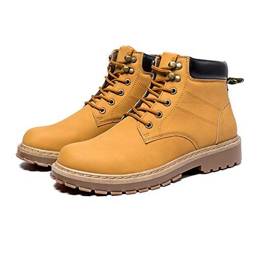 LOVDRAM Stiefel Männer Männer Hohe Hilfe Winter Werkzeuge Schuhe Stiefel Martin Stiefel Mode Schuhe