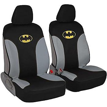 Amazon Com A Set Of 2 Universal Fit Batman Seat Covers