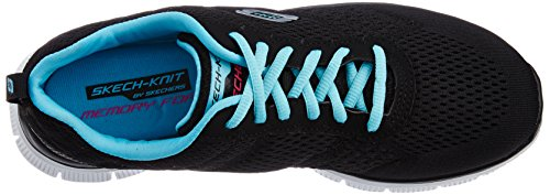 Zapatos Appeal Mujer Skechers Flex Negro Choice para Obvious Bklb wIwPqO