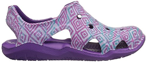 Pictures of Crocs Kids' Swiftwater Wave Graphic Sandal * 3